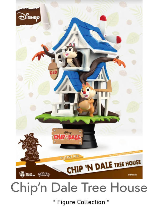D-Stage CHIP'N DALE Tree House